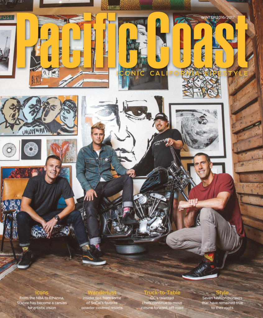 Pacific Coast Magazine Winter 2016/2017 Stance Founders